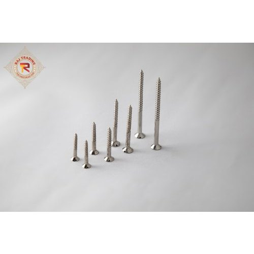 Up To 50 Mm Stainless Steel And Mild Steel Wood Screw