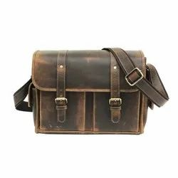 Designed Genuine Leather Camera Bag For Photography Lovers