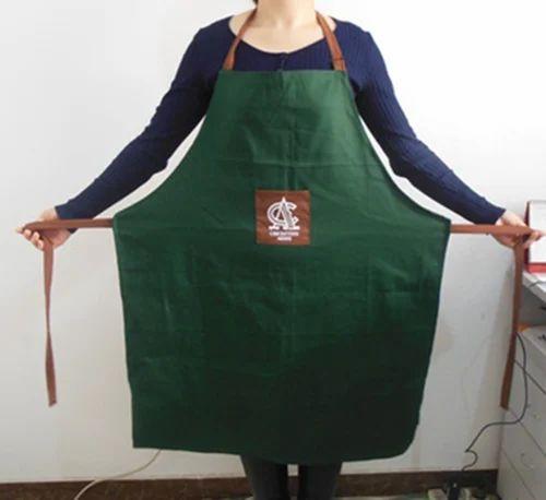 100 cotton kitchen apron at rs 300 set cotton cooking apron id 3060919612. Black Bedroom Furniture Sets. Home Design Ideas