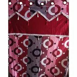 Polyester Vertical Designer Printed Window Curtain