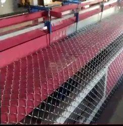 Semi Automatic Chain Link Fence Machine