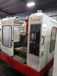 Used & Old Machine - Excel PMC-5V Vertical Machine Center Available in Warehouse