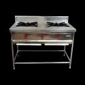 2 Burner SS Commercial Gas Range