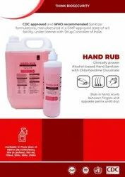 Alcohol Based Hand Sanitizer with Certification