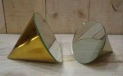 Table Mirror Cone Shape