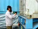 Industrial Stuffed Container Fumigation