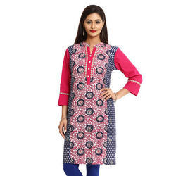 Cotton/Linen Small AndXL Ladies Casual Kurti