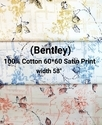 Cotton Satin Shirting Fabric (Bentley)