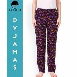 Cotton Printed Pyjama, Size: XL, XXL & 3XL