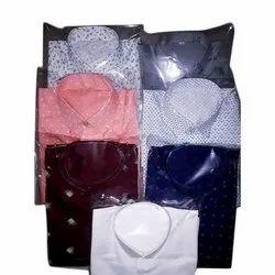 Regular Wear Printed Mens Readymade Cotton Shirt, Machine wash