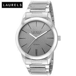 Laurels Polo Grey Dial Men's Watch