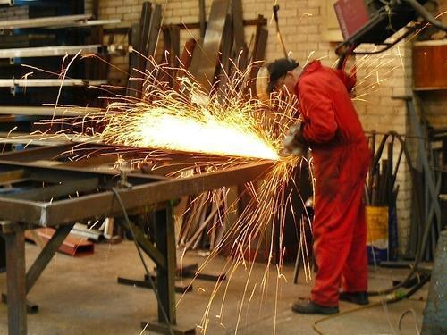 Industrial MS Fabrication Work