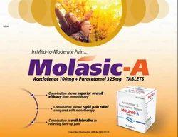 Aceclofenac 100mg Paracetamol 325mg Tablets