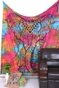 Multi Colour Elephant Wall Tapestry