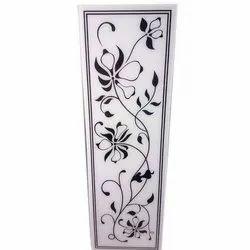 Floral Printed Designer Glass
