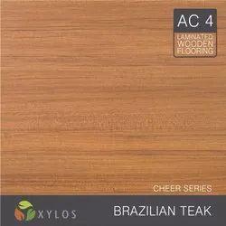 Brazilian Teak Laminate Wooden Flooring