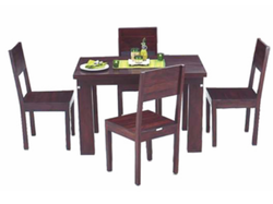 Brown Godrej Grande Dining Set, Godrej Interio Store | ID ...