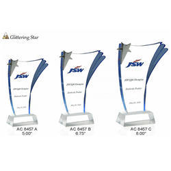 Acrylic Glittering Star Awards