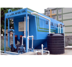 Mobile STP with Moving Bed Bio Reactor