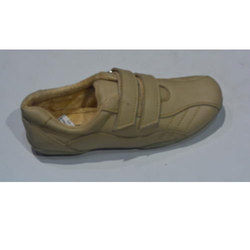 Ladies Polymer Beige Color Casual Shoes