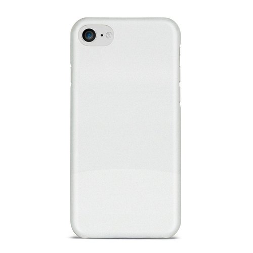 Plastic White Sublimation Blank Mobile Back Cover