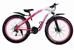 21 Gear Pink Colour Freedom Cycle