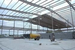 Pre Engineered Steel Structure Work