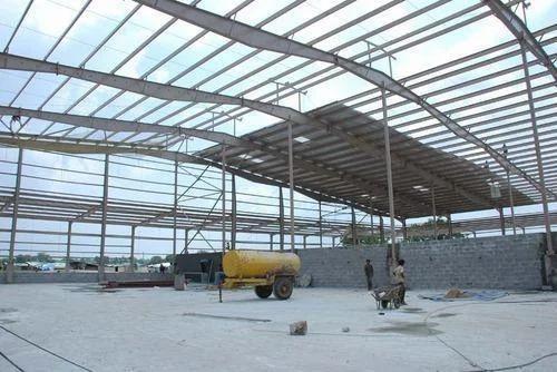 Pre Engineered Steel Structure Work