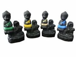 Polyresin Smoke Buddha Return Gifts