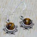 925 Sterling Silver Jewelry Amethyst Gemstone Stone Earring