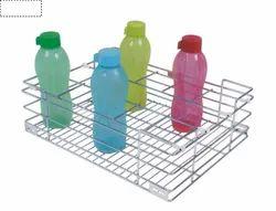 Stainless Steel Bottle Rack Basket