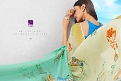 Sangrila Sakshi Cotton Vol-2 Series 4311-4322 Stylish Party Wear Linen Saree