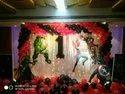 Black Red Balloon Decoration, In Trivandrum