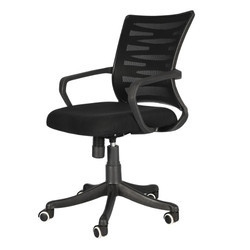 Black Jaali Ergonomical Chair