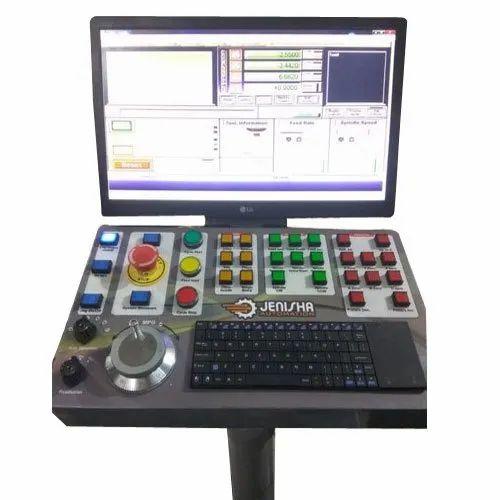 Jenisha Automation Single Phase Mach 3 CNC Control Panel, 220 V