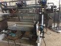 Galvanized Chain Link Fencing Machine