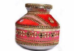 Traditional Jago at Rs 600 /piece   Traditional Kalash   ID: 17589778448