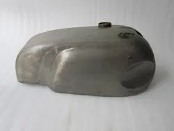 Norton Manx Triton Triumph Wideline Featherbed Raw sheetmetal gas fuel petrol tank