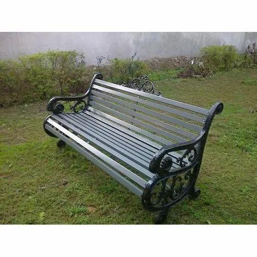 Garden Equipment Cemented Garden Bench Manufacturer From
