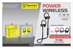 Troops Tp-7062 Power Wireless Bluetooth Headset