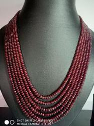 Natural Spinel Necklace with Adjustable string -358 carat