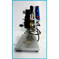 Semi Automatic Batch Coding Machine