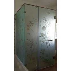 Transparent Laminated Toughened Glass, Shape: Flat