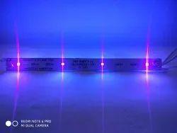 3W Square Ultraviolet Lights, 24vdc,Upto 2.5amper