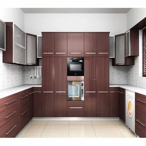 Indian Modular Kitchen: PVC Modular Kitchen, ���ीवीसी ���ी ���ॉड्यूलर ���सोई, ���ीवीसी