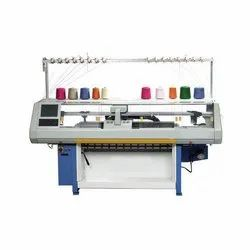 Single Carriage Single System Flat Knitting Machine