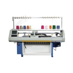 Single Carriage Single System Knitting Machine