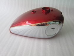 New Bsa Gold Star Scrambles Catalina 2 Gallon Cherry Painted Chrome Petrol Tank