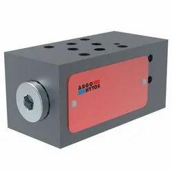 2-Way Pressure Compensator, Spool-Type, Direct-Acting, Modular