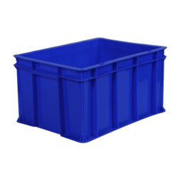 Deep Industrial Plastic Crate